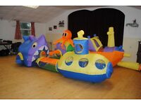 ELC Airflow Undersea Adventure - Inflatable play tents and tunnels.