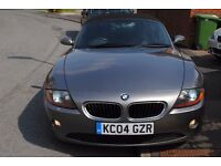 BMW Z4 2.5i SE CONVERTIBLE 2004 FSH MOT SUPER CAR 2 OWNERS £4495 LAST OWNER 14 YEARS