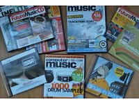 9 assorted computer music future music sample cds from early 2000s
