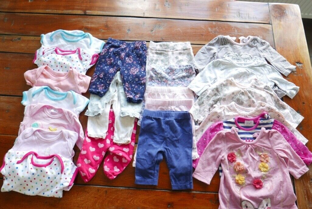 0-1 Month One-pieces Clothing, Shoes & Accessories Baby Girls Next Vests