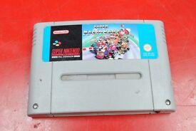 Super Nintendo SNES Game Super Mario Kart £55