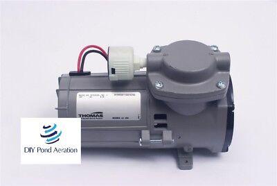 New Thomas 107ccd18 30 Psi Diaphragm Compressorvacuum Pump 22hg W Filter 220v