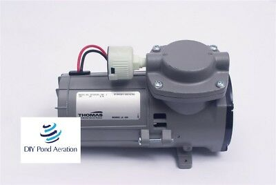 New Thomas 107cdc20 Compressorvacuum Pump110 Hp12v Brake Booster W Filter
