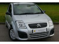 YES 9832 MILES***Citroen C2 1.4 HDi 8v VTR 3dr £30 ROAD TAX*70MPG***£0 DEPOSIT FINANCE AVAILABLE