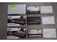 Korg Volca Beats Bass Keys Triple Pack Boxed £360