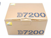 Nikon D7200, boxed as new in pristine condition