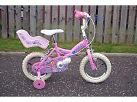 """12"""" Girls 'Kid Cool' Bike"""