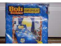 Single Bob The Builder Duvet set