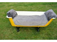 vintage cast iron roll top bath settee sofa retro industrial