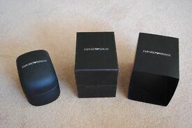 Emporio Armani watch box
