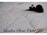 Bianco Calacatta Polished Marble 61x30 - 31m2 JOB LOT for £715