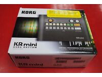 Korg KR Mini Compact Drum Machine Boxed £50