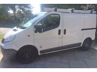 Vauxhall Vivaro 2.0 CDTI 2900 Panel Van -EU4 - SWB with Roof Bars, Tow Bar and Pipe Carrier