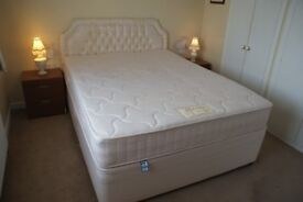 King Size Bed complete with 4 Drawers and Headboard & Bedroom furniture all excellent condition