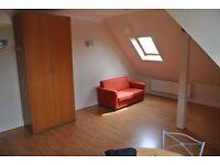 Second floor spacious one bedroom/two bathroom flat in Wembley.