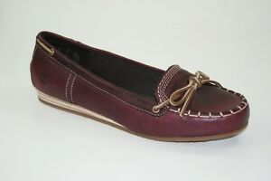 Timberland-Ek-CASKA-Ballerine-Pantofola-Mocassini-Loafer-Scarpe-Donna-18660