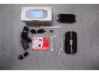 Sony PSP Original Console Black Boxed Bundle £85