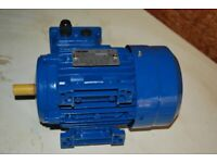 Electric motor CEMER 0.3kw brand new in box.