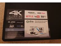 4K Upscaling Blu-ray/DVD Player with 3D playback