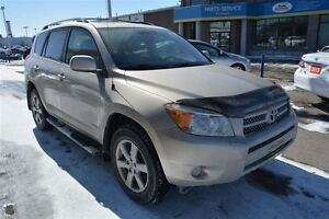 2006 Toyota RAV4 LIMITED SUV WITH LEATHER, SUNROOF
