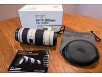 Canon 70 200mm F4 is usm lens