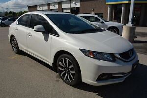 2013 Honda Civic TOURING/SUNROOF/BLUETOOTH/CAMERA/LEATHER/NAV