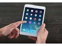 Apple IPad Mini 16GB Silver Wifi & Cellular With Warranty