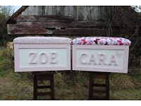 LARGE PERSONALISED CHILDRENS TOY BOX