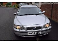 VOLVO V70 ESTATE AUTOMATIC 2004 MOT 2017 CLEAN AND TIDY AND ONLY £1095ono