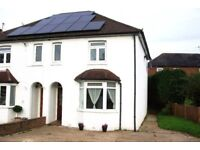 3-Bed Semi in Milford, Nr.Godalming, Nr.Guildford for rent, unfurnished.