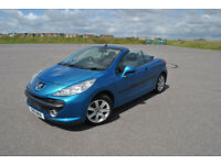 Peugeot 207 207cc 2008 51k Low milage Long MOT Very good condition private plate