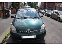 Cheap yaris 10month mot bargain ideal run about