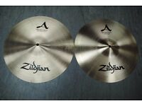 "Zildjian New Beat Hi-hat Top and Bottom 14"" Cymbals £305"