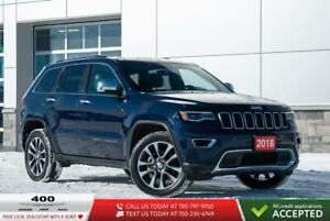 2018 Jeep Grand Cherokee | Limited | LEATHER | PANO SUNROOF |