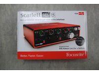 Focusrite Scarlett 18i8 2nd Gen Brand New Factory Sealed £270