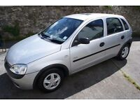 Vauxhall Corsa 1.2 GLS 5dr, Y-plate. 12months MOT, very clean car for age.