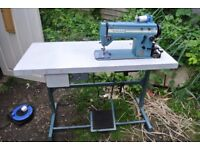 Singer 20U Freehand Embroidery Zig Zag industrial sewing machine (FOR SAIL MAKING etc