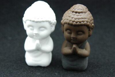 Praying Buddha, Silicone Mold Chocolate Sugar Polymer Clay Soap Candle Resin