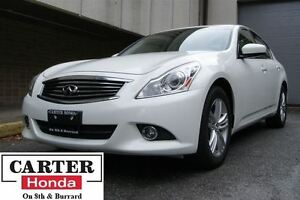 2012 Infiniti G37X Luxury + AWD + LEATHER + BOSE SYSTEM!