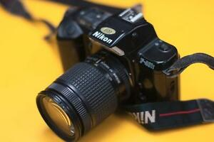 Nikon F401 with 28-80 AF-D lens