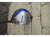 Ping G2 11.5° Soft Regular Flex Driver and Head Cover