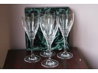 Tipperary Crystal wine glasses