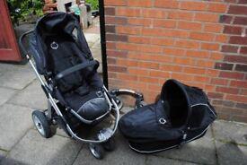 iCandy apple pram & bassinet, 3 or 4 wheeler, forward & rear facing, good condition