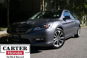 2013 Honda Accord Sport + LOCAL + CERTIFIED 6YR/120000KMS!