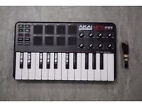 Akai Professional MPK Mini Laptop Production Keyboard £55