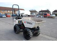 Terex 1000D 1 Ton Mini Dumper Dump Truck