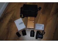 Nikon D3100 with 18-105 VR lens