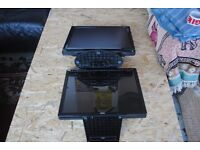 """2x 15"""" MONITOR SCREENS - POWER CABLE INCLUDED"""