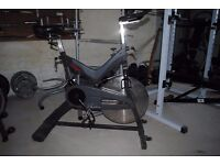Commercial Pulse/Star Trac Spin Bike - Spinning Exercise Gym