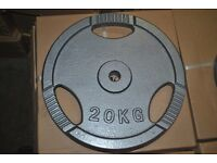 Brand New Standard Weight Plates £1.50/kg! *20KG - 1.25KG* (weights gym)